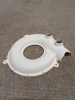 Fan-casing bottom half